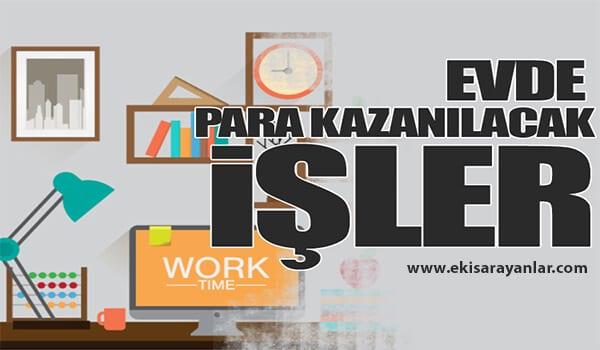 Ankara evde ek iş fırsatları