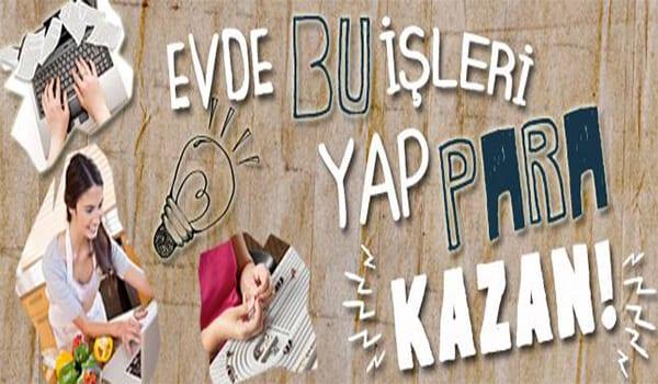 İstanbul evde ek iş fırsatları