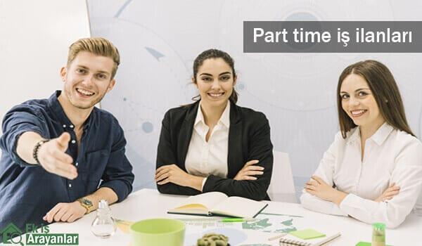 Part time iş ilanları Eylül 2018