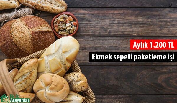 Evde ekmek sepeti paketleyerek para kazanın