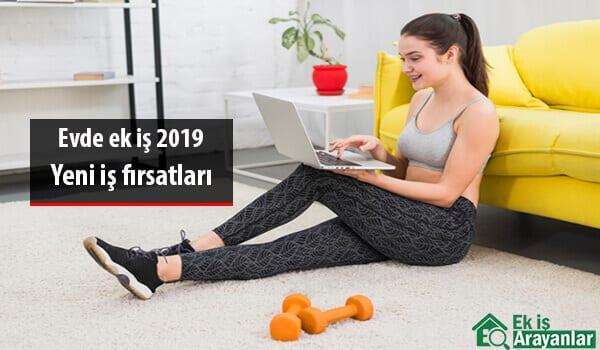 Evde ek iş 2019