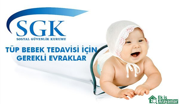 SGK Tüp bebek desteği için gerekli evraklar